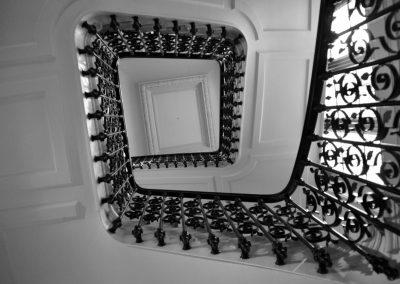 Escalier de la Fondation
