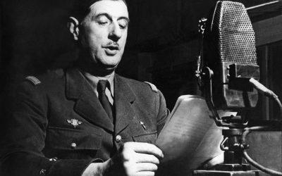 Appel du 18 juin : témoignages d'attachement au général de Gaulle