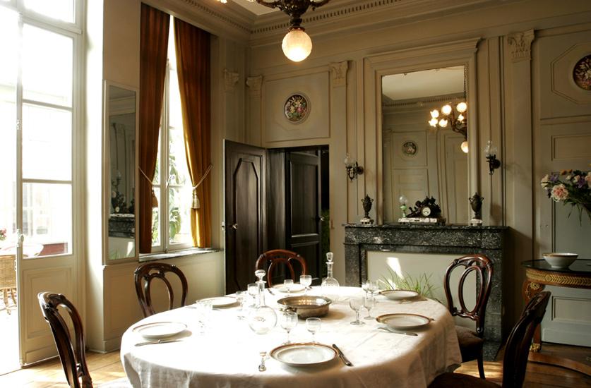 La maison natale charles de gaulle fondation de gaulle for Salle a manger tunisie