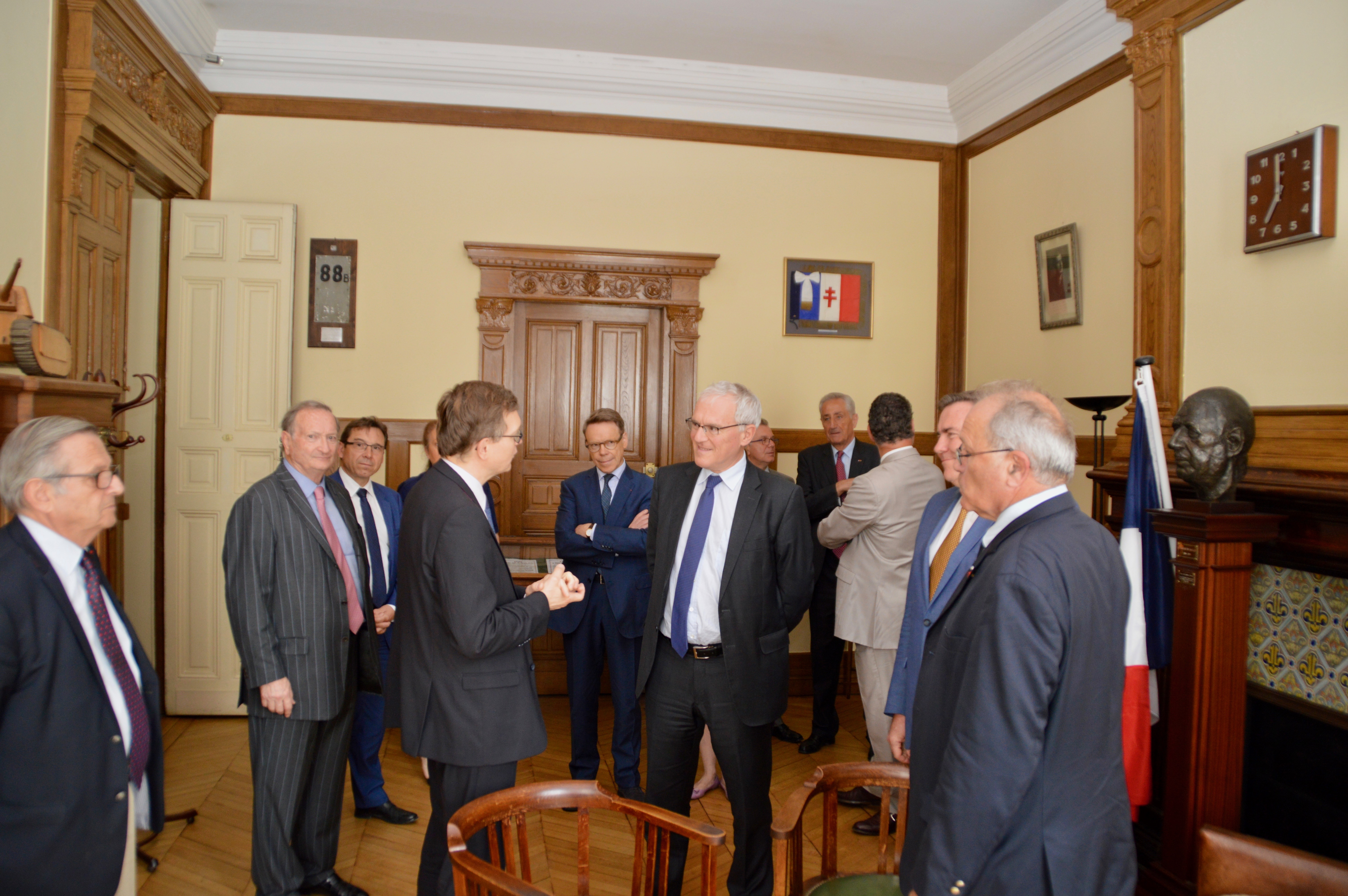 Signature des partenariats avec EDF et avec la Fondation Sommer 2