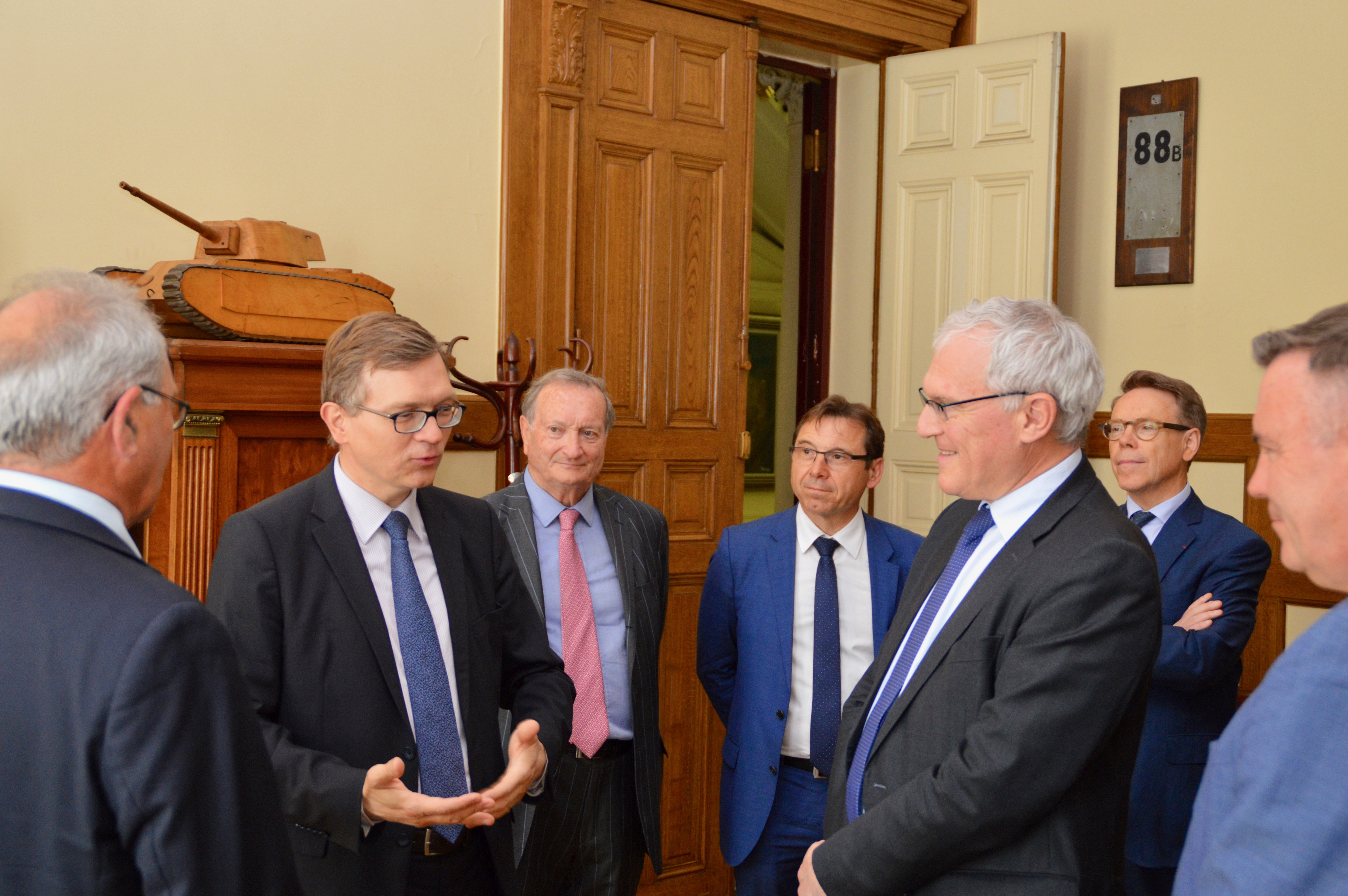 Signature des partenariats avec EDF et avec la Fondation Sommer 4