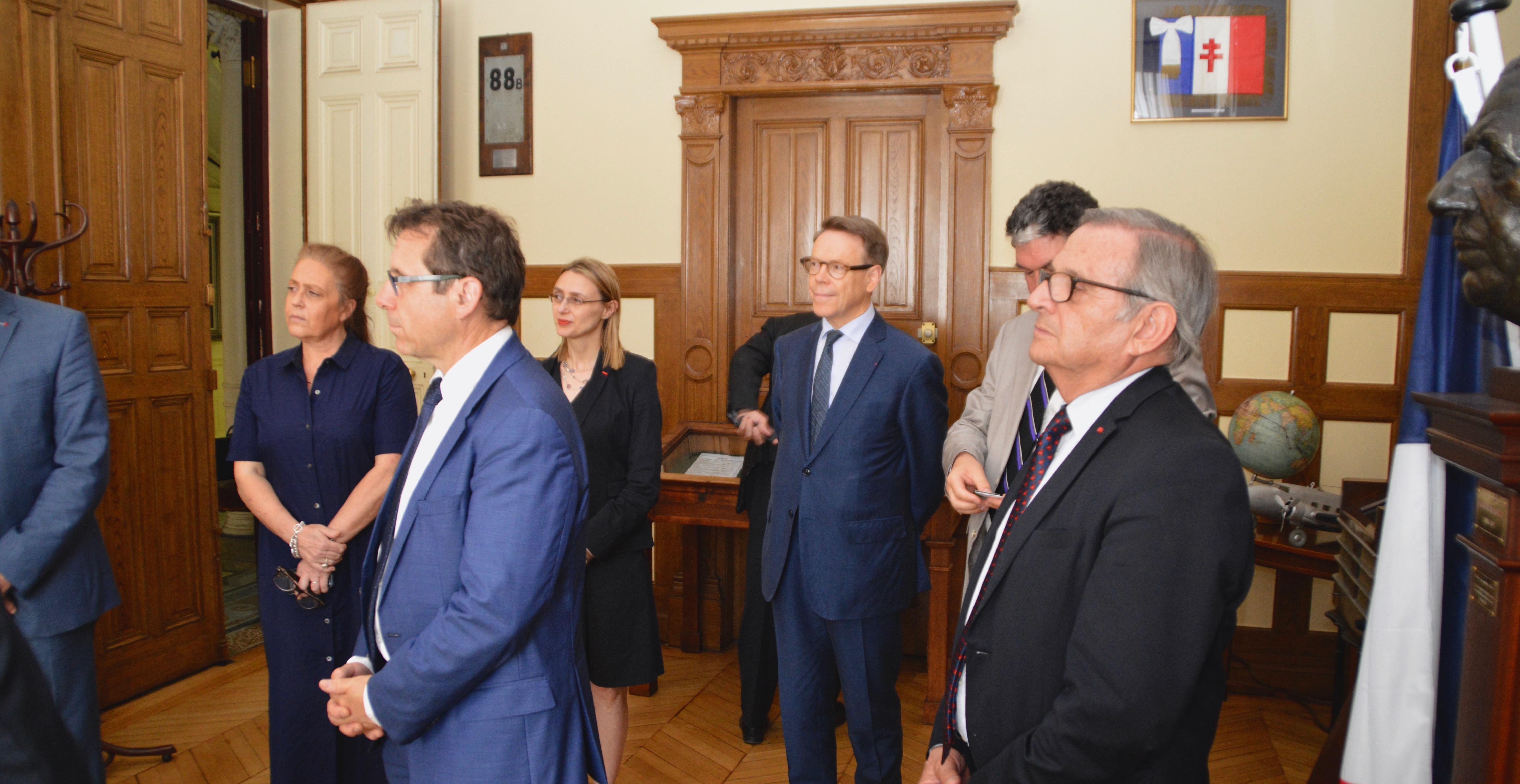 Signature des partenariats avec EDF et avec la Fondation Sommer 7