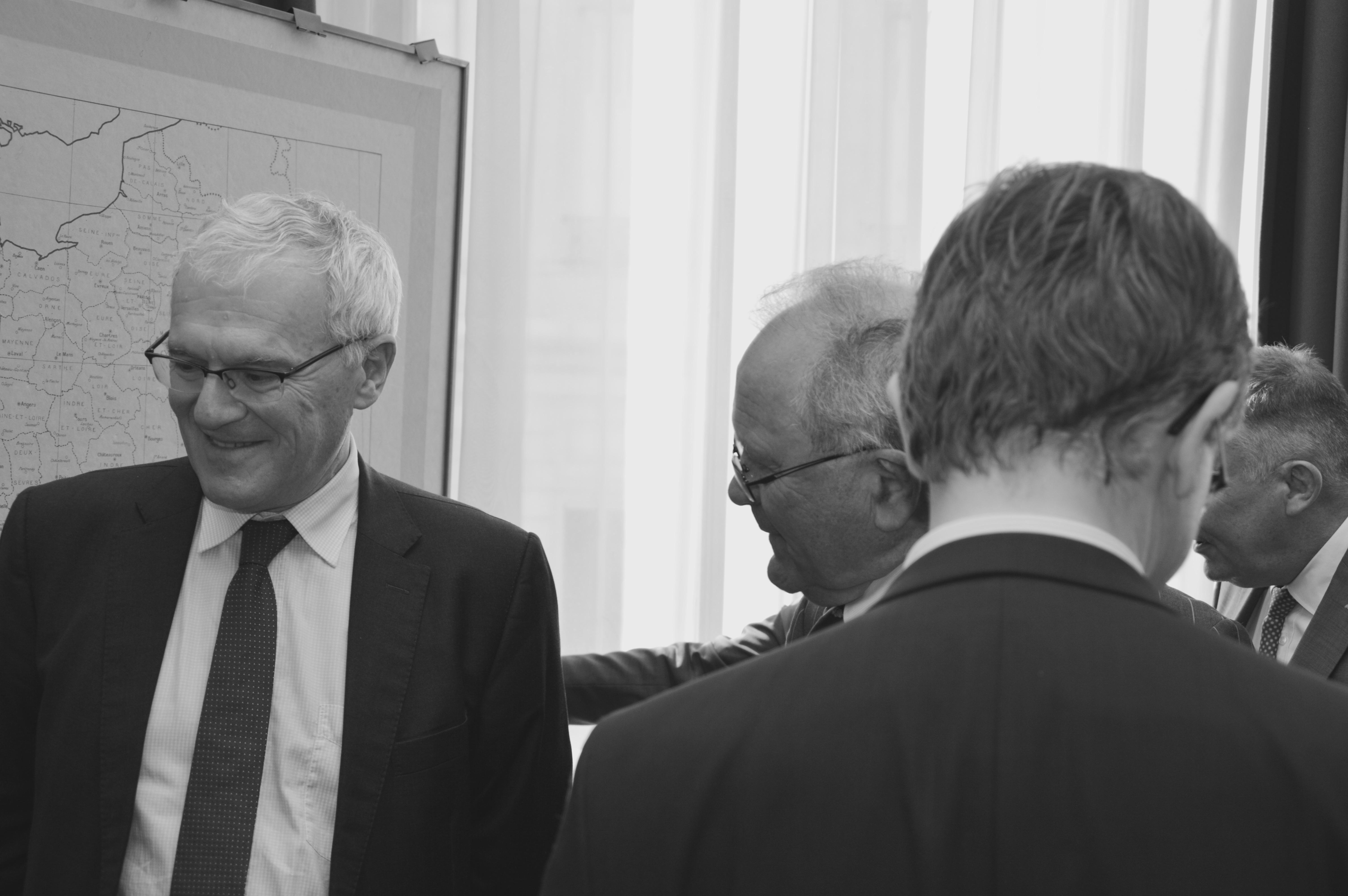 Signature des partenariats avec EDF et avec la Fondation Sommer 8