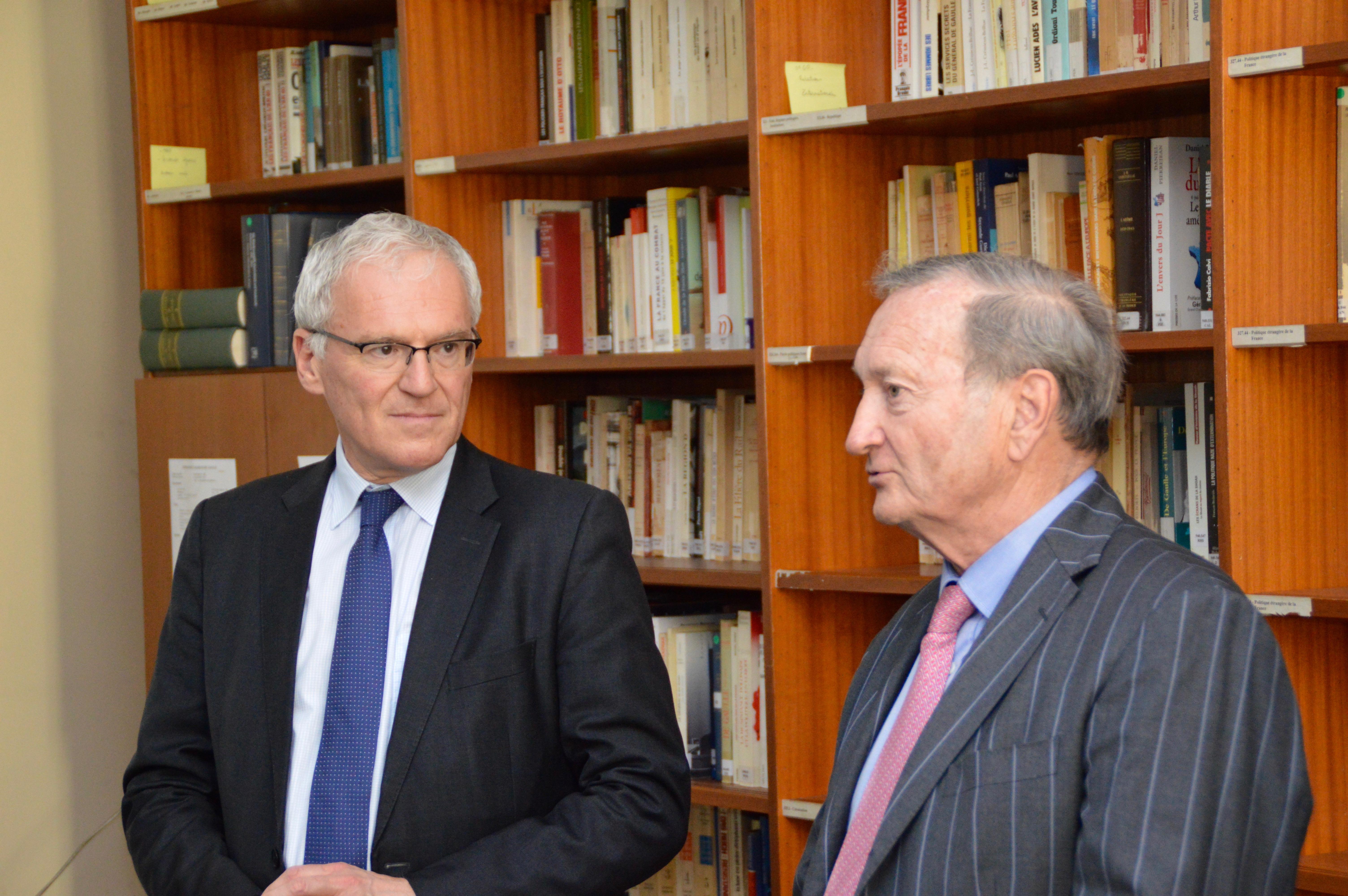 Signature des partenariats avec EDF et avec la Fondation Sommer 18