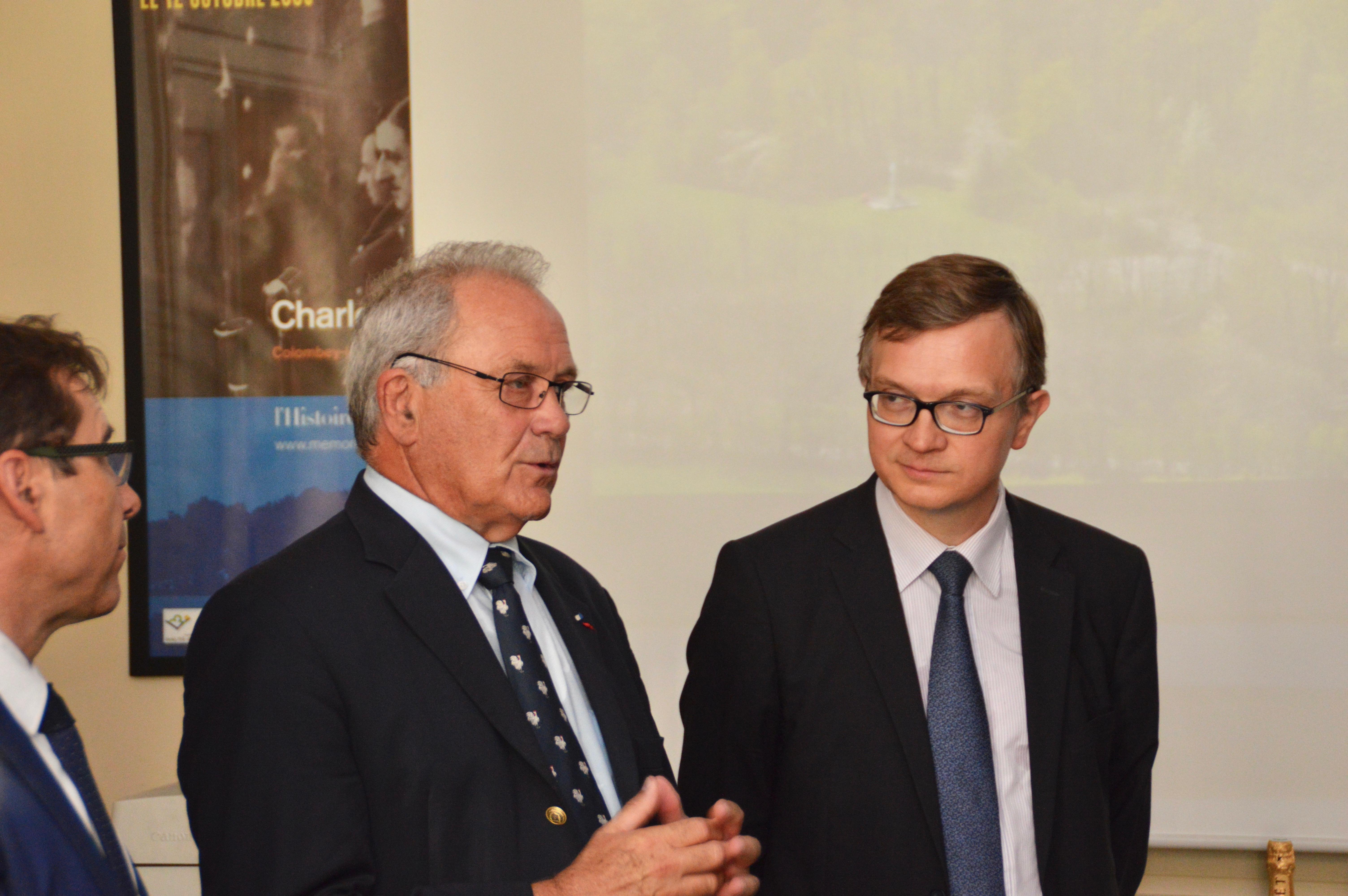 Signature des partenariats avec EDF et avec la Fondation Sommer 20