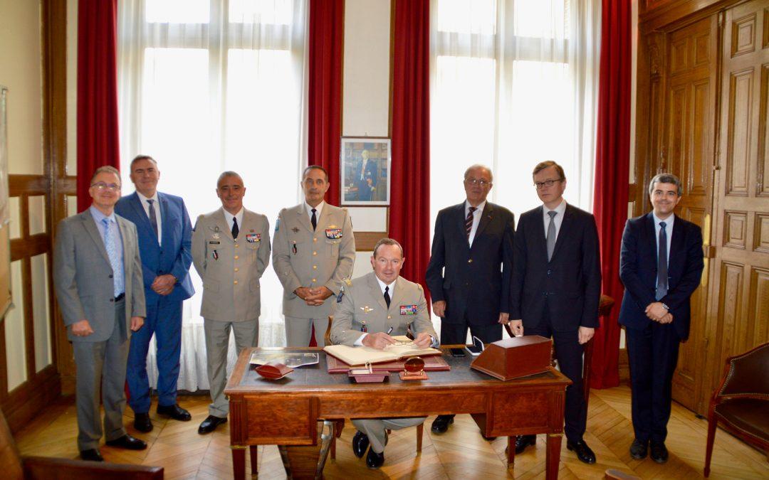 Visite du Chef d'État-major de l'Armée de Terre