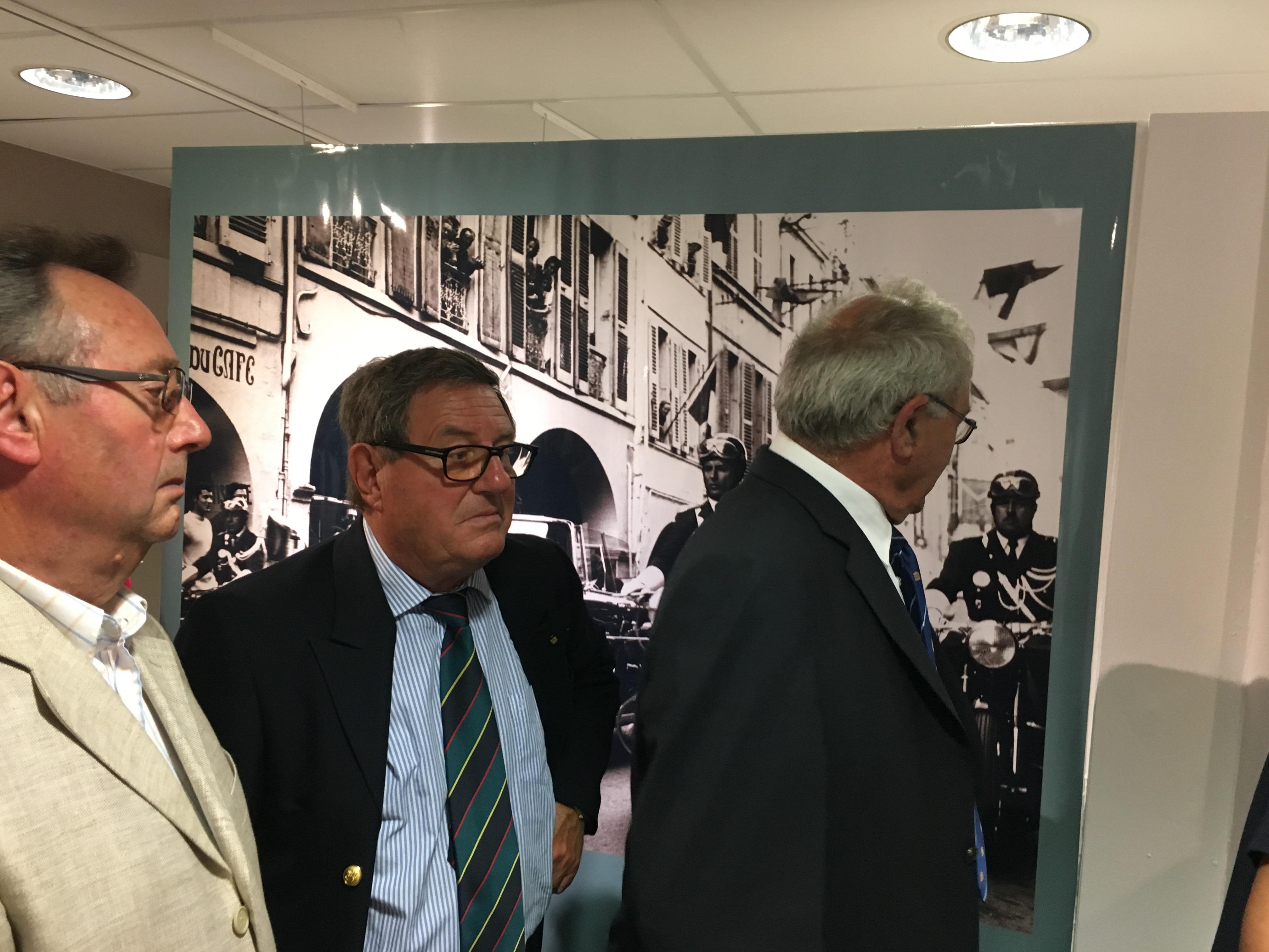 """Inauguration exposition """"Les voyages du général de Gaulle en Charente-Maritime"""" 6"""