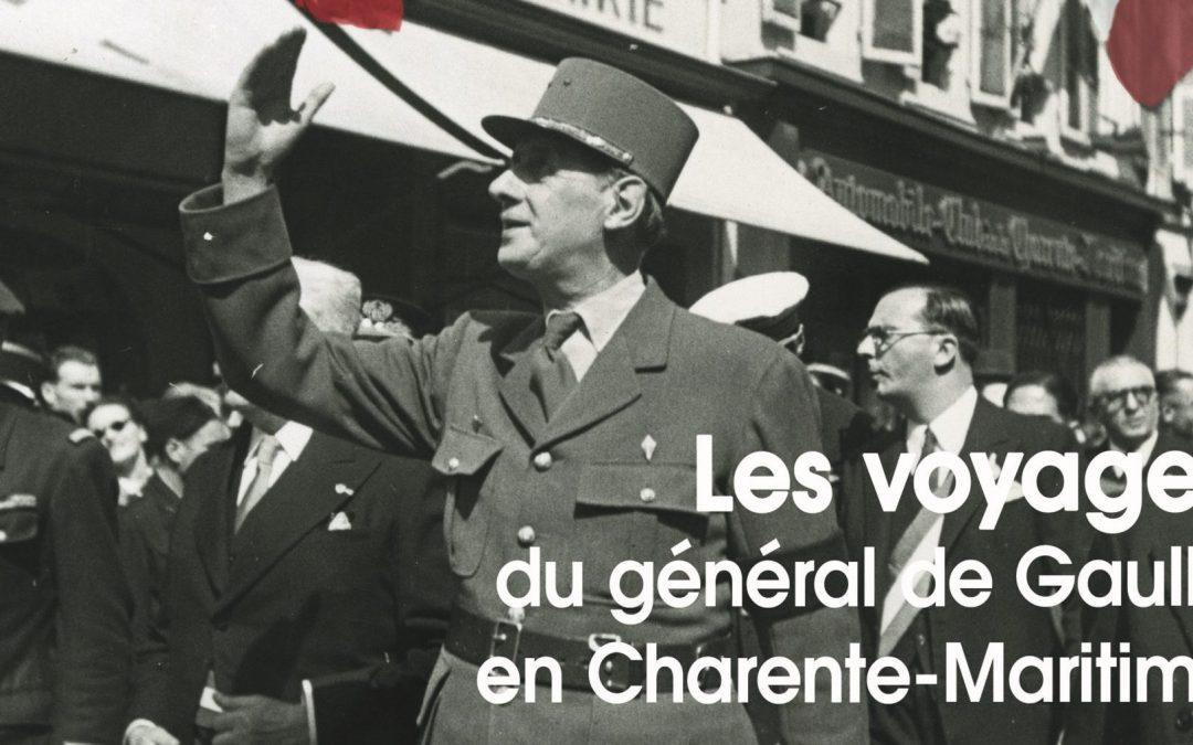 Exposition «Les voyages du général de Gaulle en Charente-Maritime»