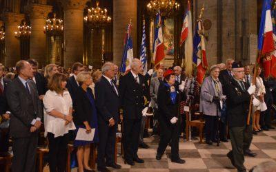 Messe solennelle célébrée à la cathédrale Notre-Dame de Paris