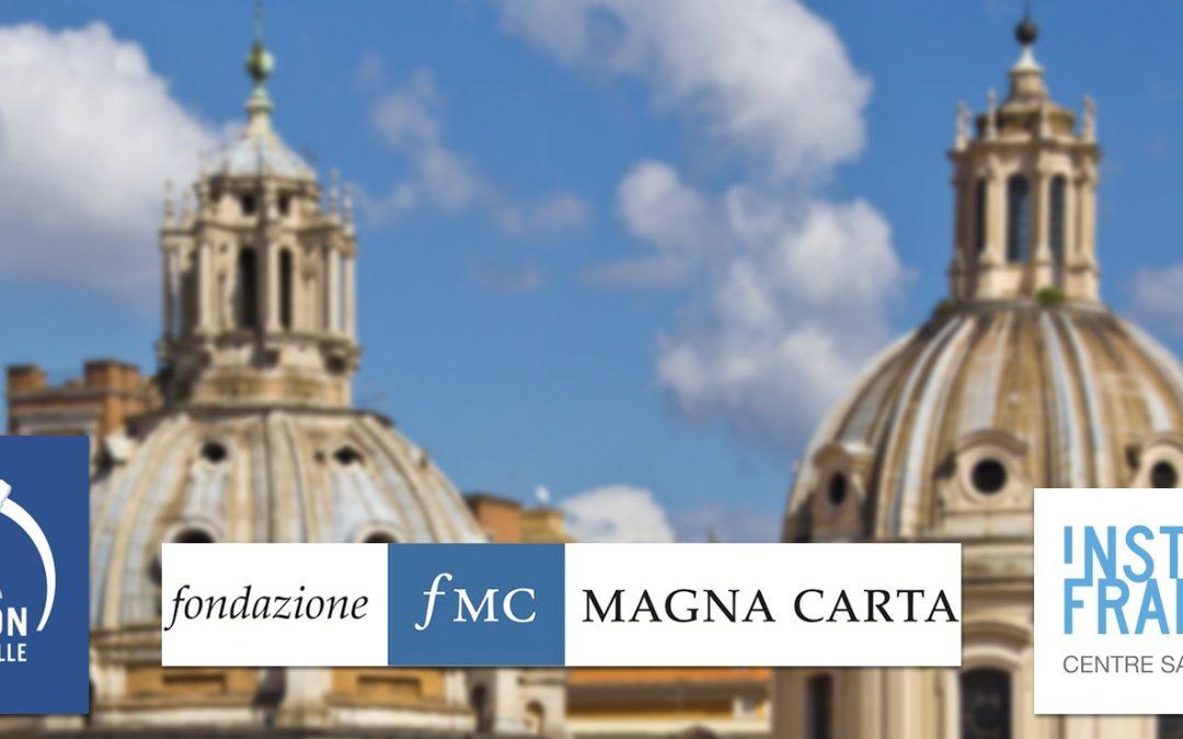 Journée d'étude franco-italienne sur l'avenir des partis politiques