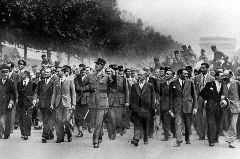 descente des Champs-Elysées, 26 août 1944