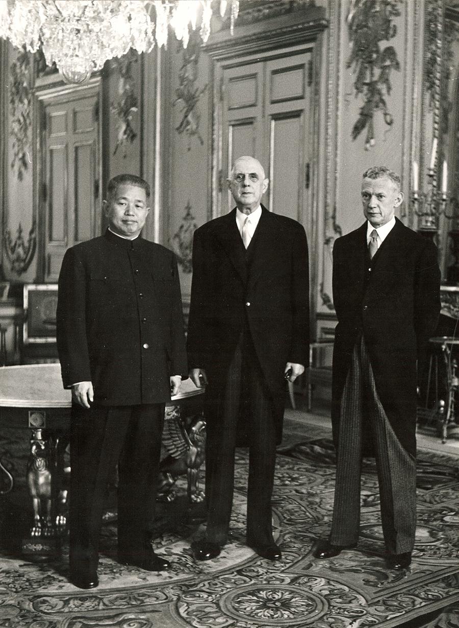 Reconnaissance de la République populaire de Chine