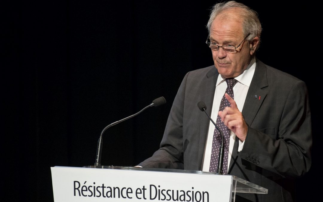 Intervention du Président Jacques Godfrain au colloque « Résistance et dissuasion »