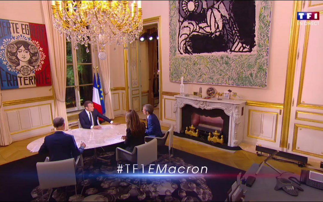 Le Président de la République sur TF1 – La participation des salariés : «une source d'ardeurs nouvelles» ?