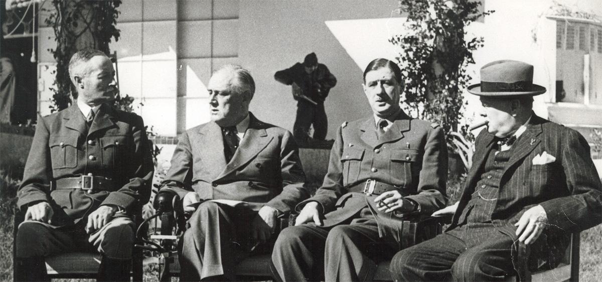 De Gaulle et les Alliés à Anfa