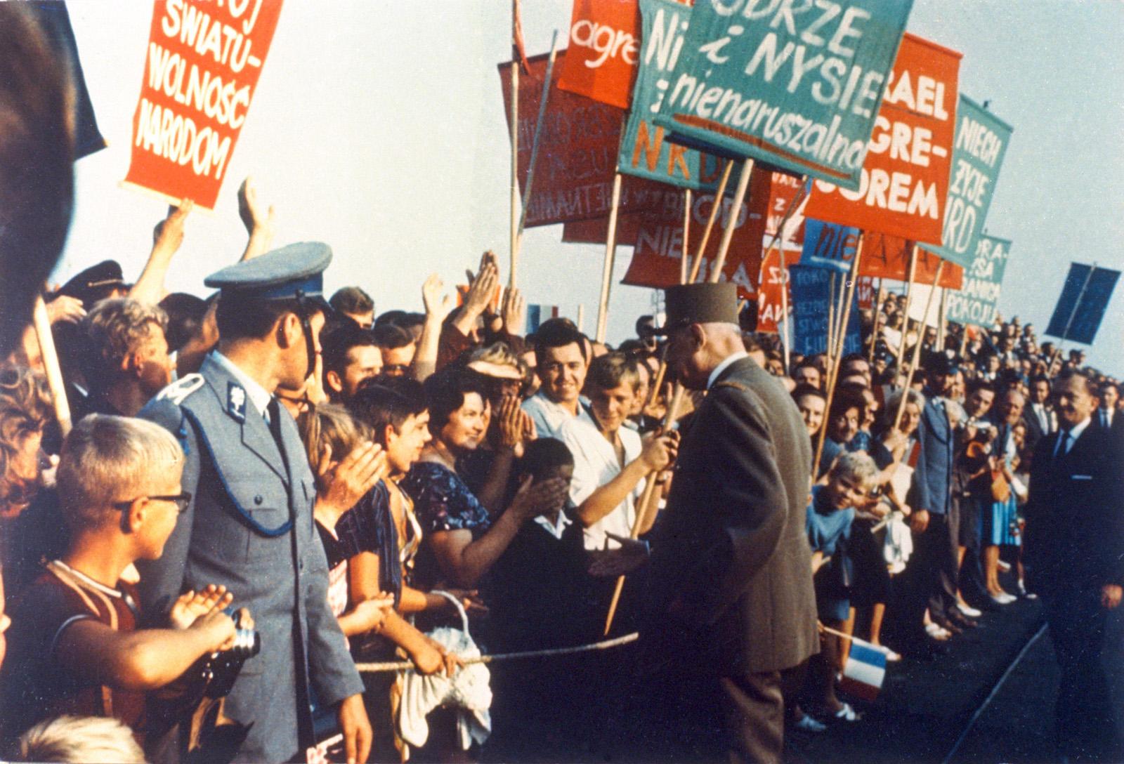 De Gaulle en Pologne