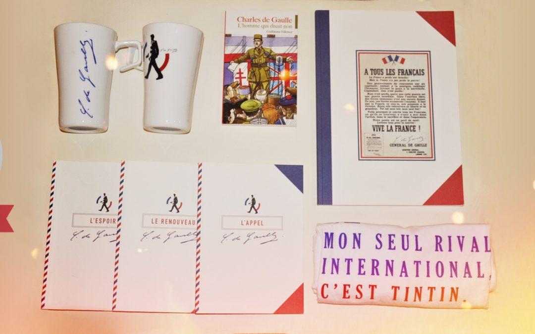 De nouveaux produits sur la boutique en ligne de la Fondation Charles de Gaulle
