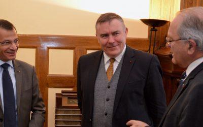 Visite de l'Ambassadeur du Liban en France Rami Adwan