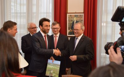 Visite du gouverneur de Beyrouth, Monsieur Ziad Chebib