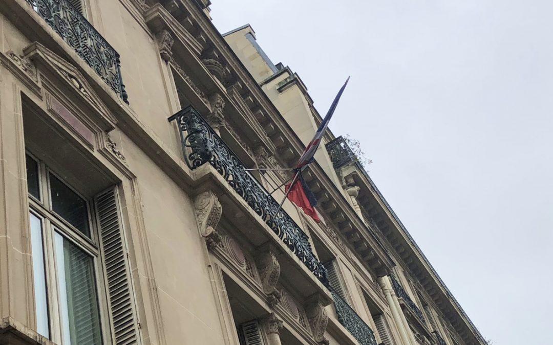 Hommage au lieutenant-colonel Arnaud Beltrame