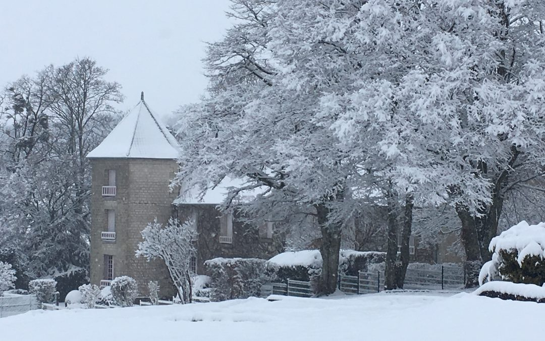 La Boisserie sous la neige !