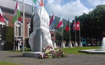 Communiqué «La statue du Général de Gaulle 'voilée' pendant une cérémonie militaire à Lourdes»