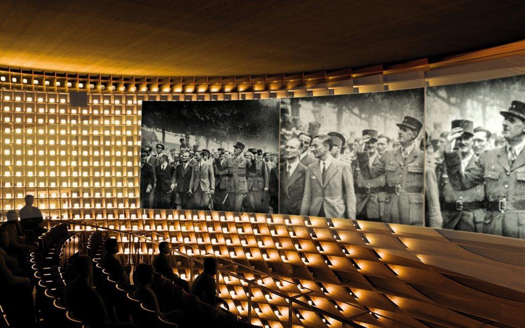 Réception d'une délégation de représentants de l'État-Major des Armées à l'Historial Charles de Gaulle