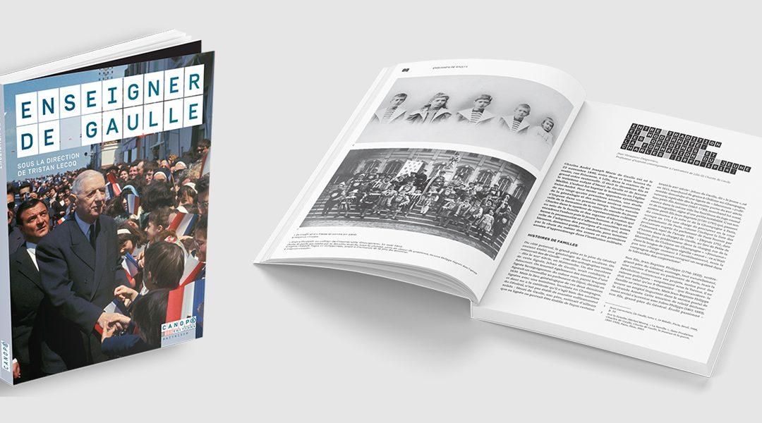 Lancement de l'ouvrage «Enseigner de Gaulle»