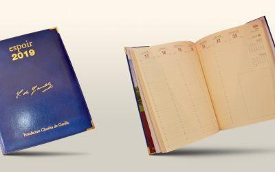 Commandez votre agenda Espoir 2019