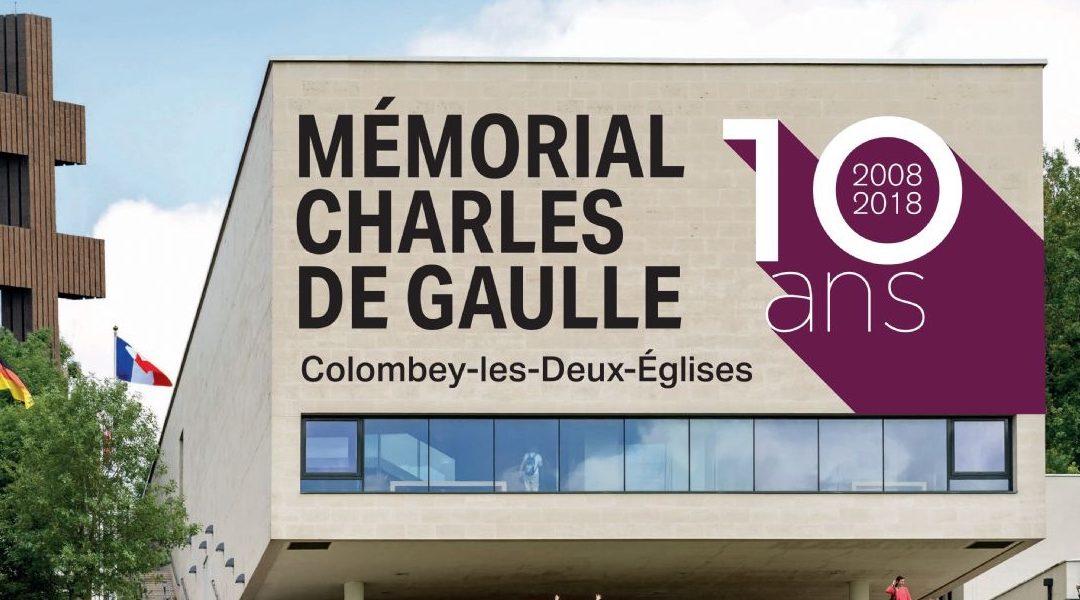 Fermeture du Mémorial Charles de Gaulle du 22 au 25 décembre 2018
