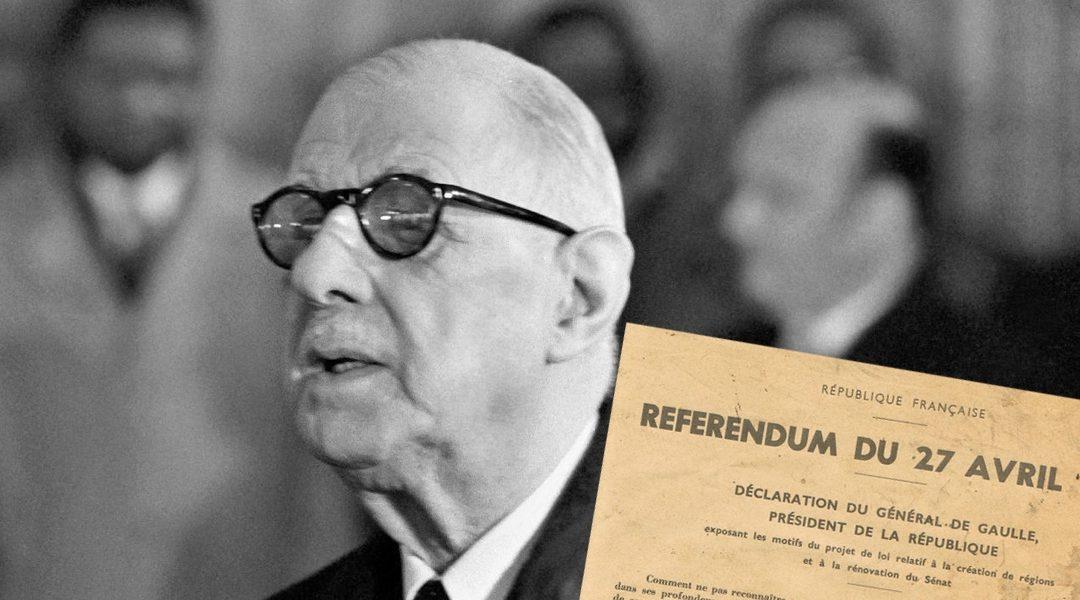 28 avril 1969 : le général de Gaulle démissionne