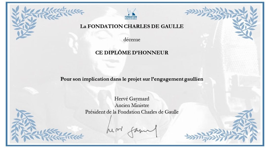 Édition 2019 du concours d'éloquence de la Fondation Charles de Gaulle