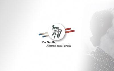 Inauguration du jardin «Yvonne de Gaulle» à Scorbé-Clairvaux