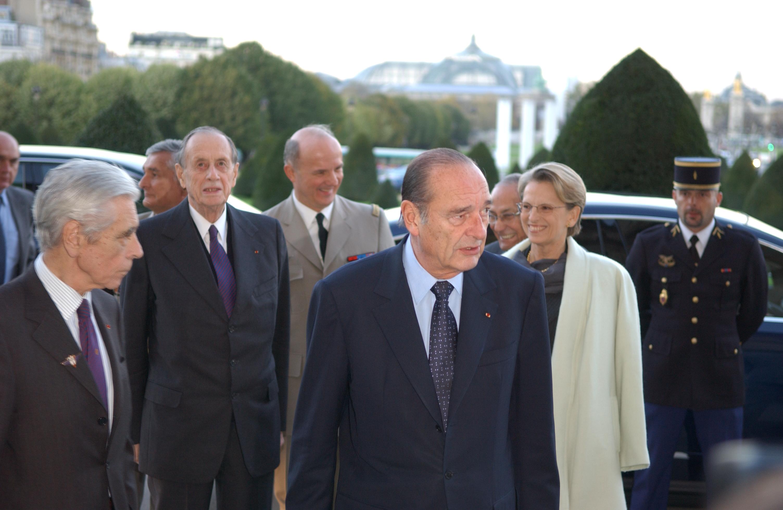 Présentation du projet de l'Historial aux Invalides, le 9 novembre 2005
