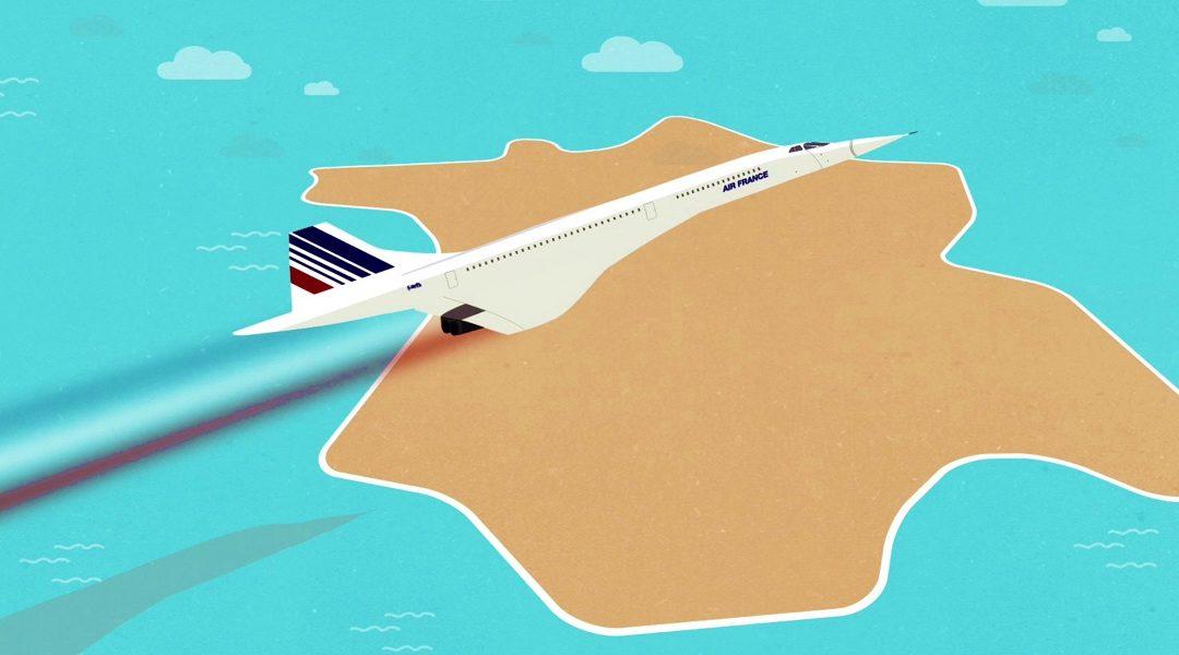 Nouvelle vidéo pédagogique de Réseau Canopé : «Le Concorde et la modernisation de la France»