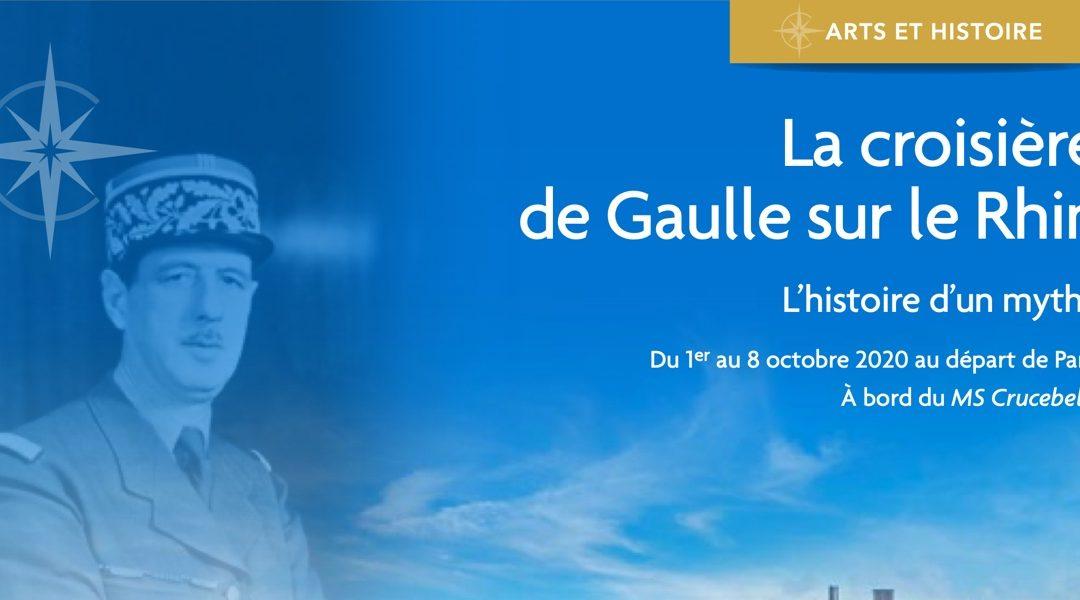 Croisière «De Gaulle» sur le Rhin