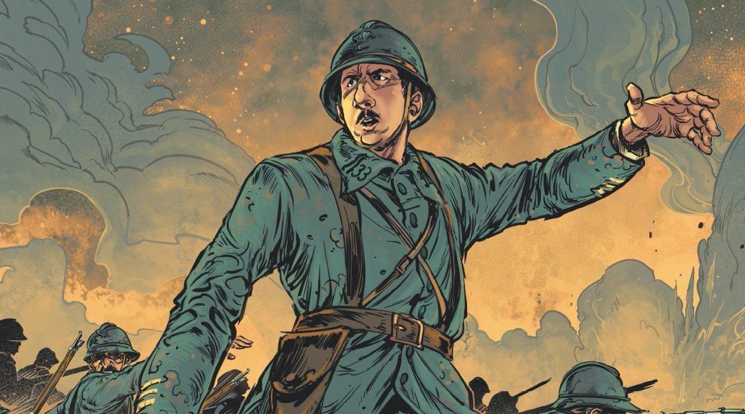 Sortie de la nouvelle bande dessinée «Charles de Gaulle, Tome 1» (aux éditions Glénat)
