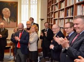 Cérémonie en l'honneur du Professeur Gilles Le Béguec, président sortant du Conseil scientifique