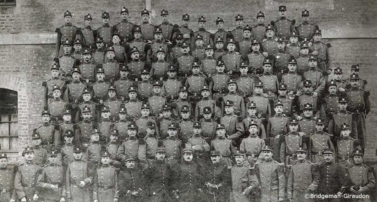 10/10/1909 : Service militaire au 33e Régiment d'Infanterie cantonné à Arras