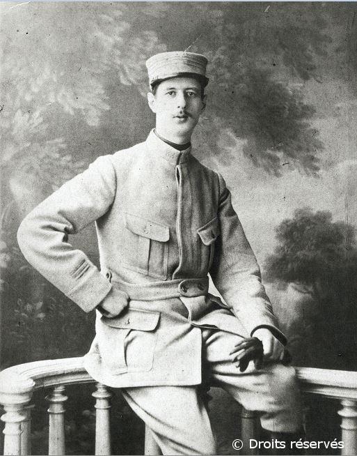 10/03/1915 : Le capitaine de Gaulle est blessé à la main gauche