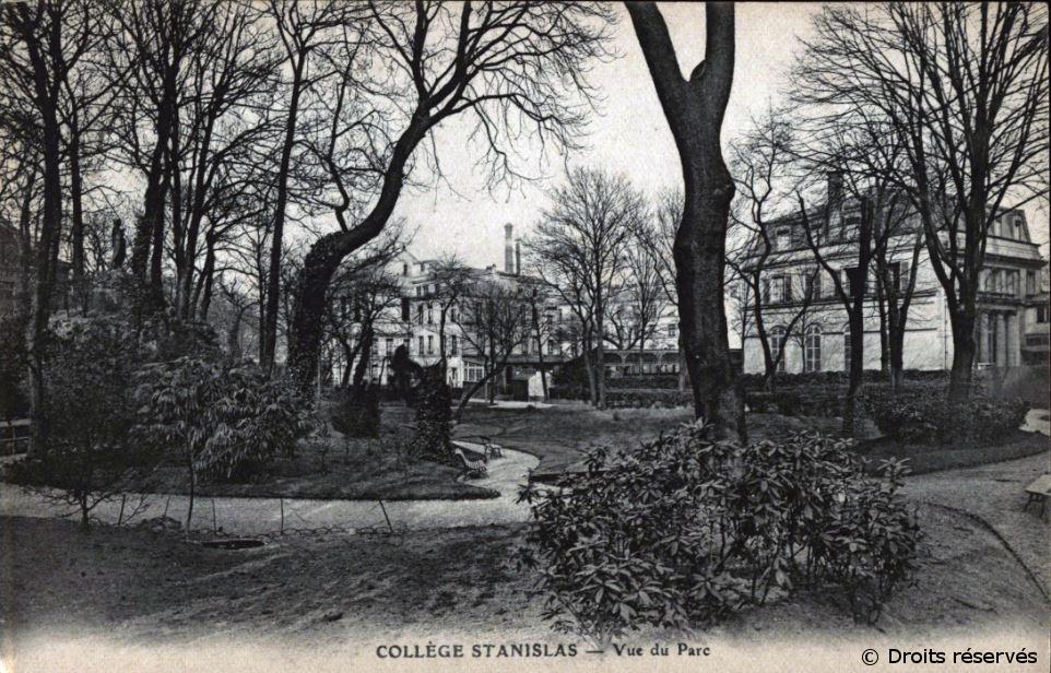 1908-1909 : Classe préparatoire à l'École spéciale militaire de Saint-Cyr au collège Stanislas à Paris