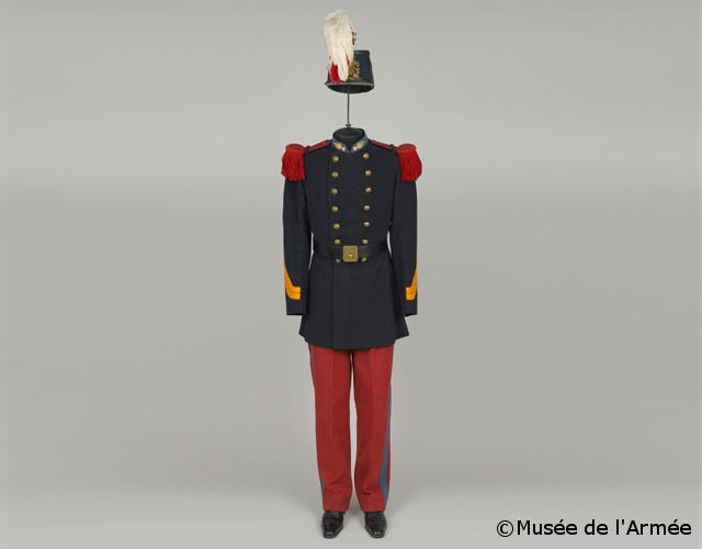 30/09/1909 : Entrée à l'Ecole militaire de Saint-Cyr