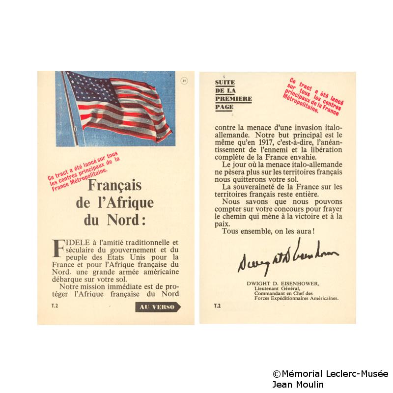08/11/1942 : Débarquement allié en Afrique du Nord