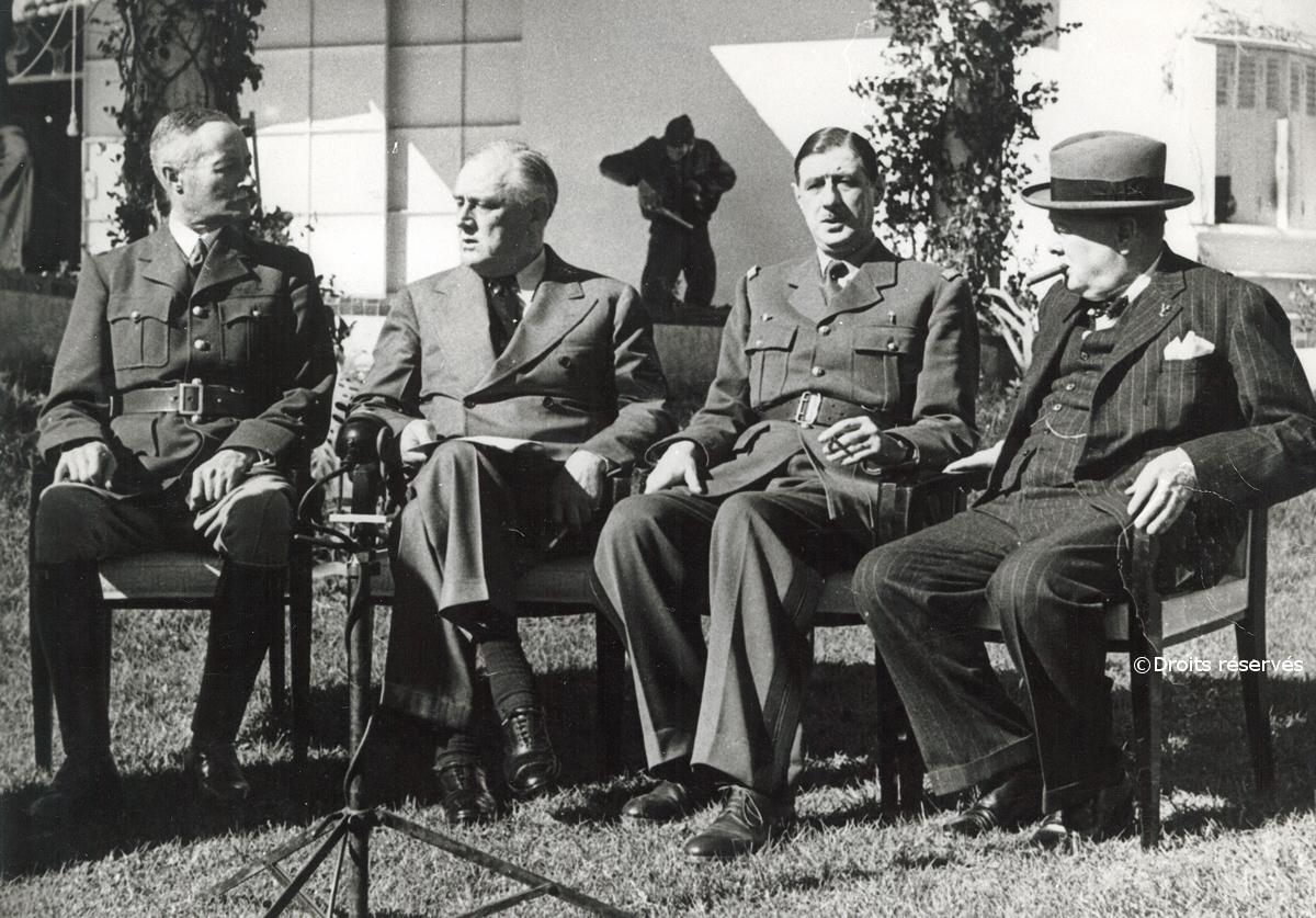 14/01-24/01/1943 : Conférence d'Anfa