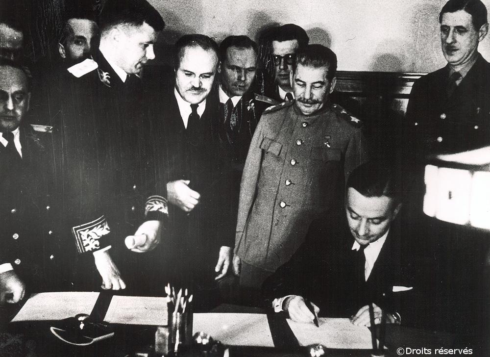 24/11-16/12/1944 : Voyage officiel en URSS