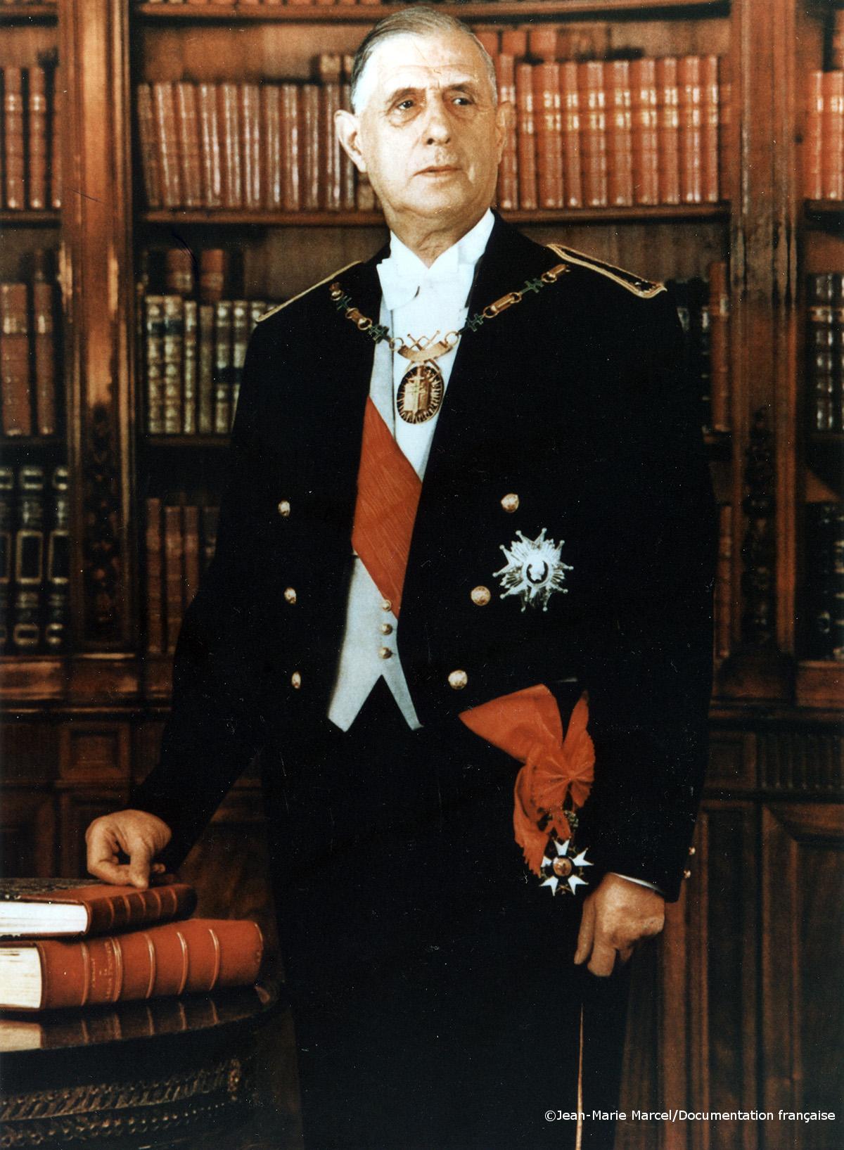 08/01/1959 : De Gaulle prend ses fonctions de Président de la République