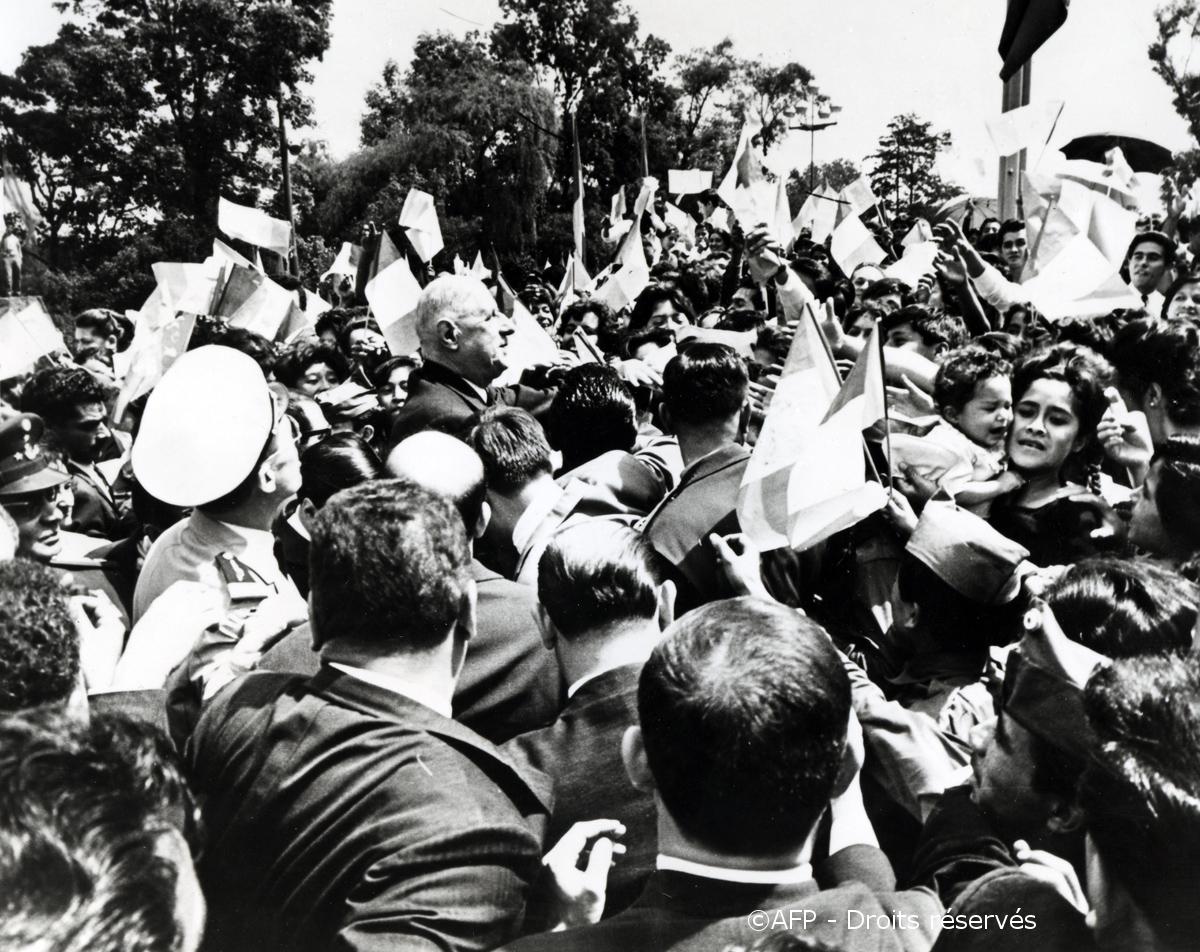 15-24/03/1964 : Voyage officiel au Mexique