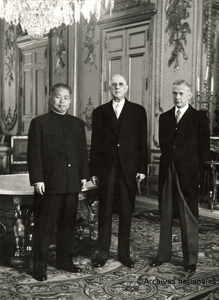 27/01/1964 : Reconnaissance de la Chine populaire par la France