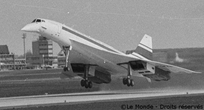 02/03/1969 : Premier vol du Concorde