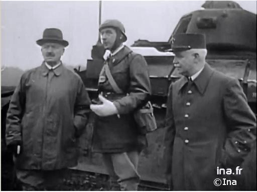 02/09/1939 : De Gaulle commandant par intérim des chars de la 5e armée